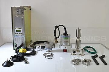 ISP-3000 ultrasonic processor disassembled