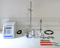 LSP-500 ultrasonic system - disassembled
