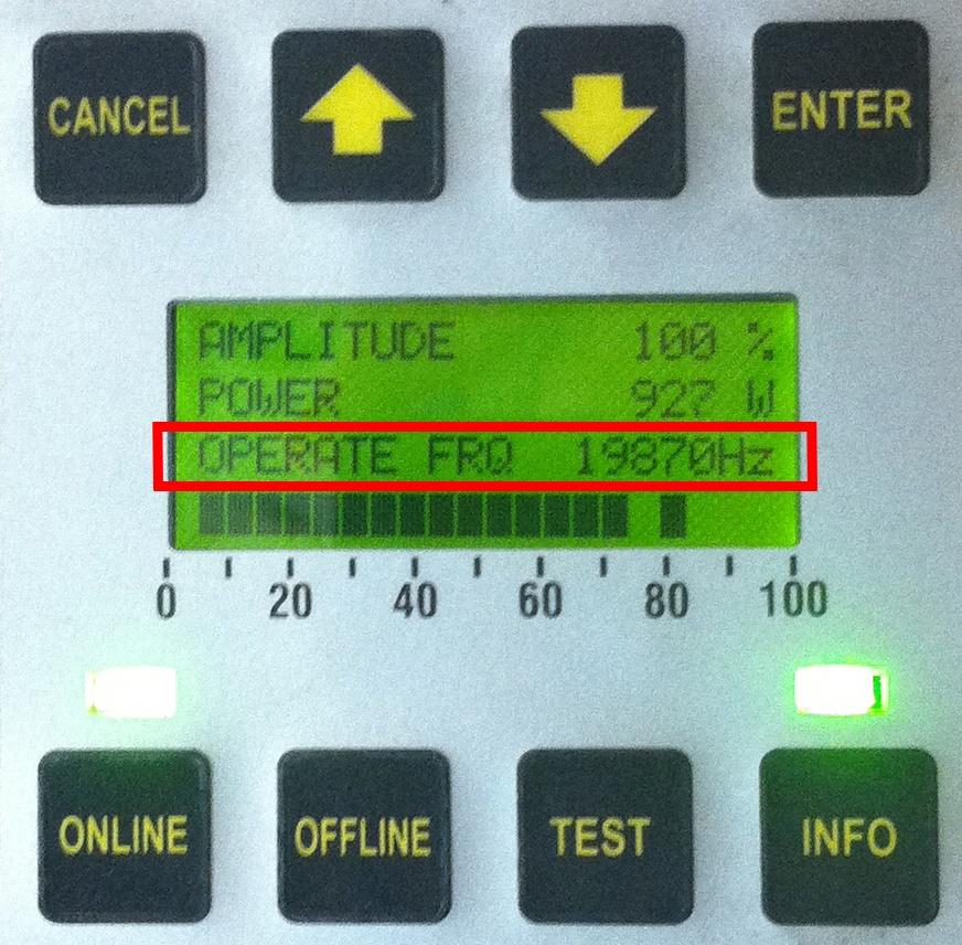 Ultrasonic Frequency