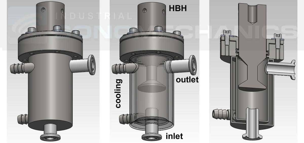 BSP-1200 bench-scale reactor chamber