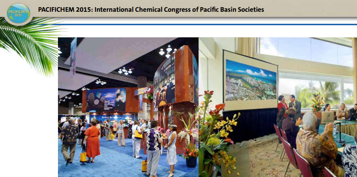 ISM at Pacifichem 2015 presentation