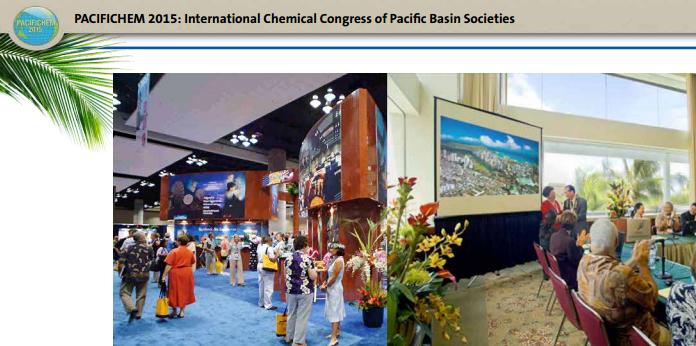 ISM at Pacifichem 2015 presentation