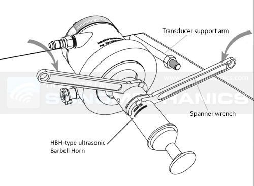 BSP-1200 Horn - Transducer Attachment with spanner wrenches.jpg