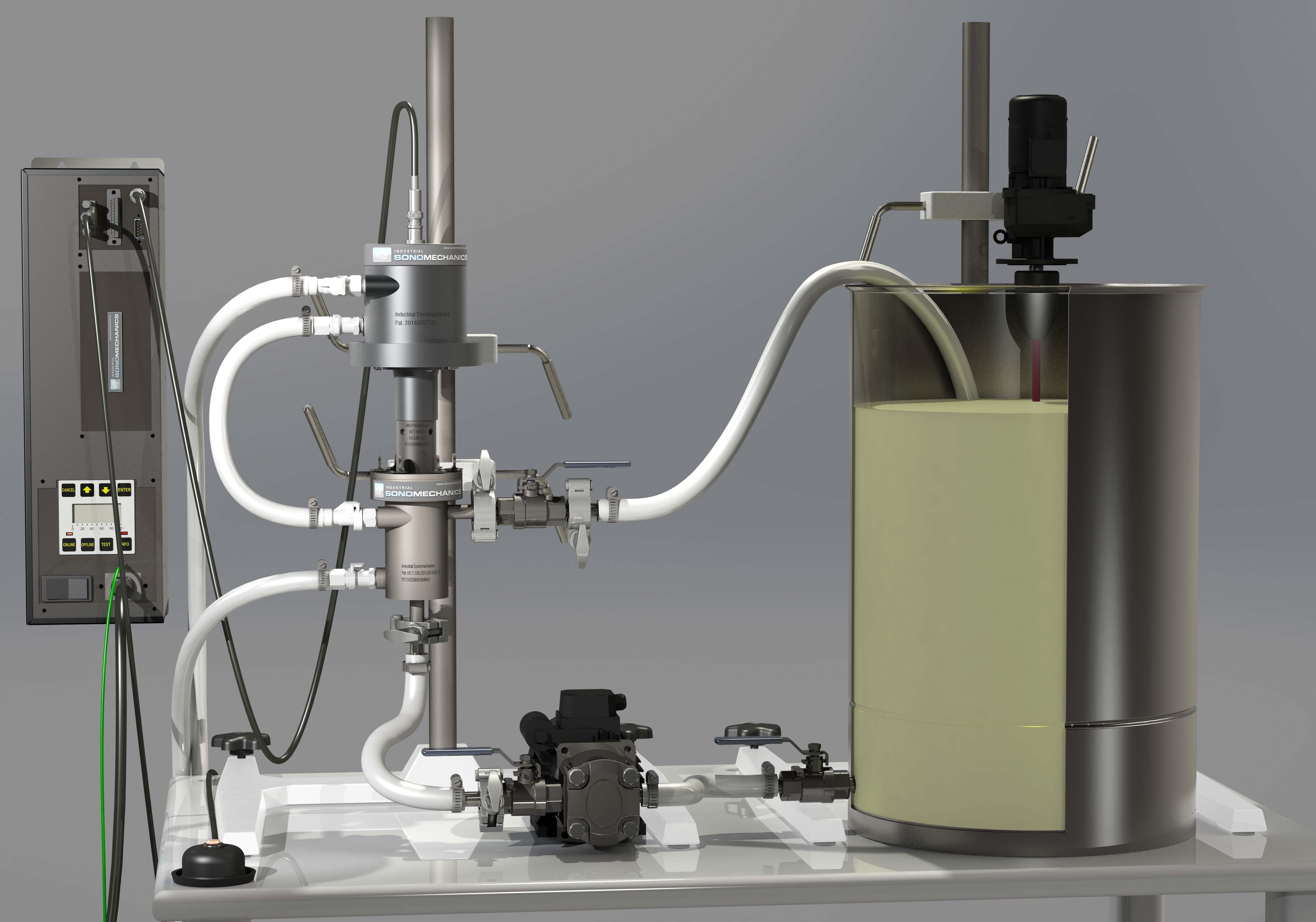 BSP-1200 ultrasonic liquid processor
