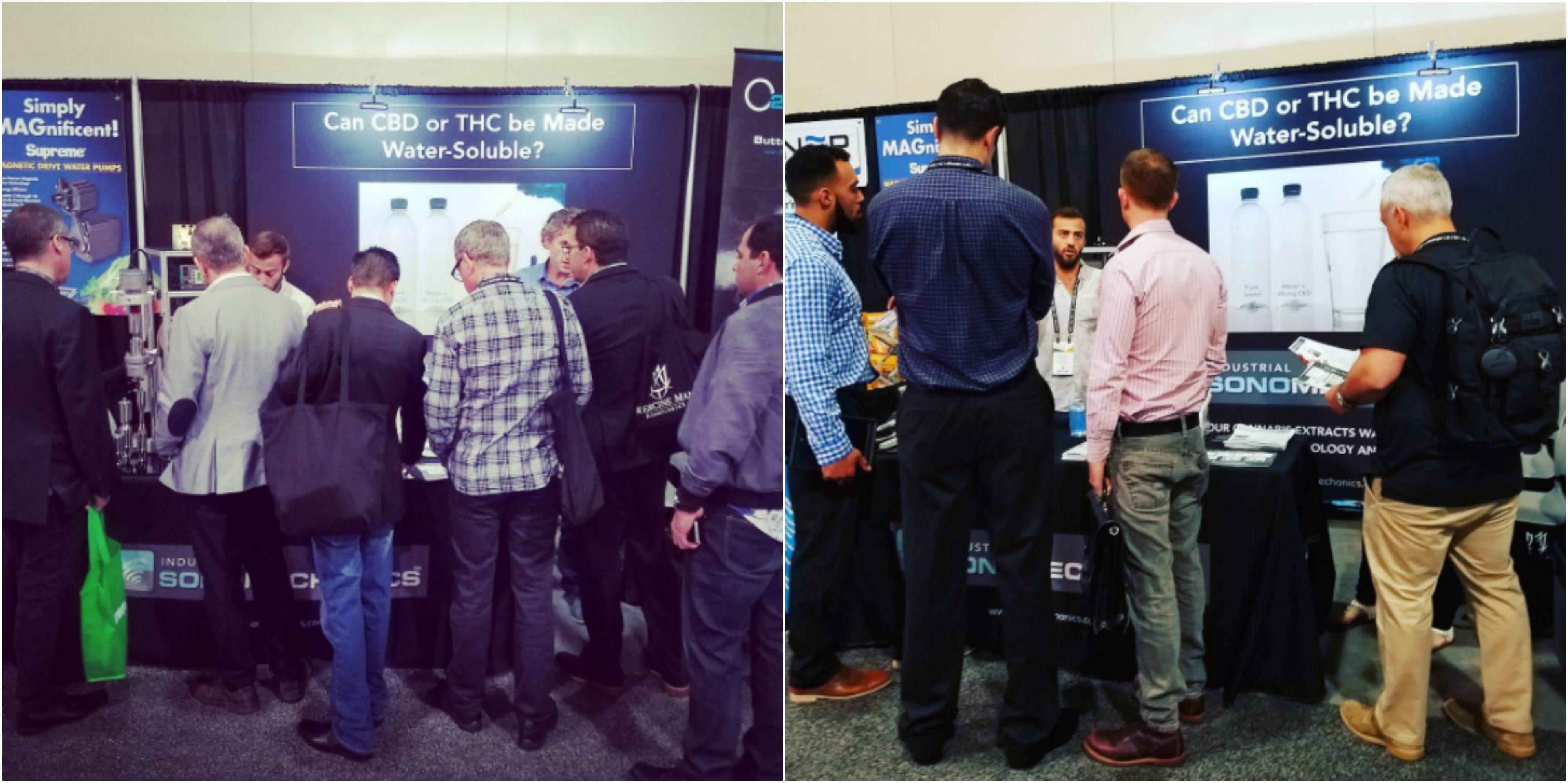 Industrial Sonomechanics' booth at the 2017 MJBiz Conference and Expo