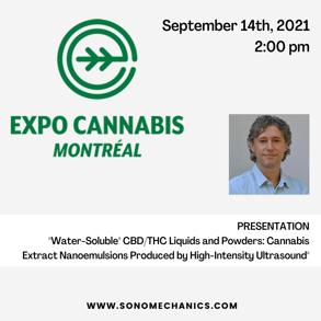 alexey peshkovsky speaking at montreal cannabis expo