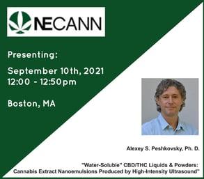 alexey peshkovsky ISM presenting at NECANN Boston MA