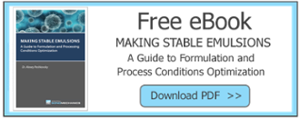 Guide to making stable emulsions