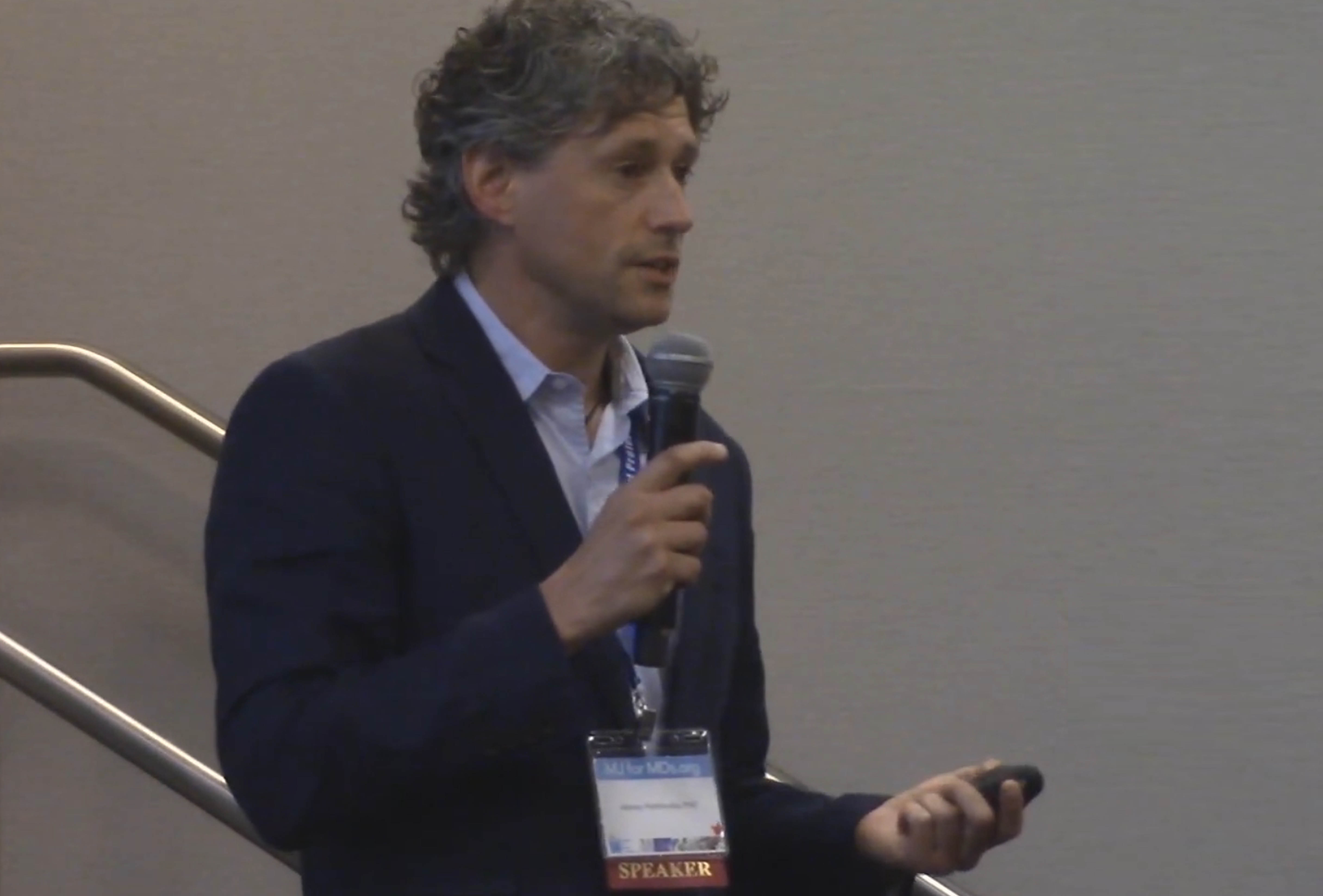 Dr. Alexey Peshkovsky presenting at Marijuana For Medical Professionals Conference, 2018
