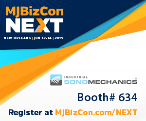 2019 MJBizConNEXT - Industrial Sonomechanics, booth 634