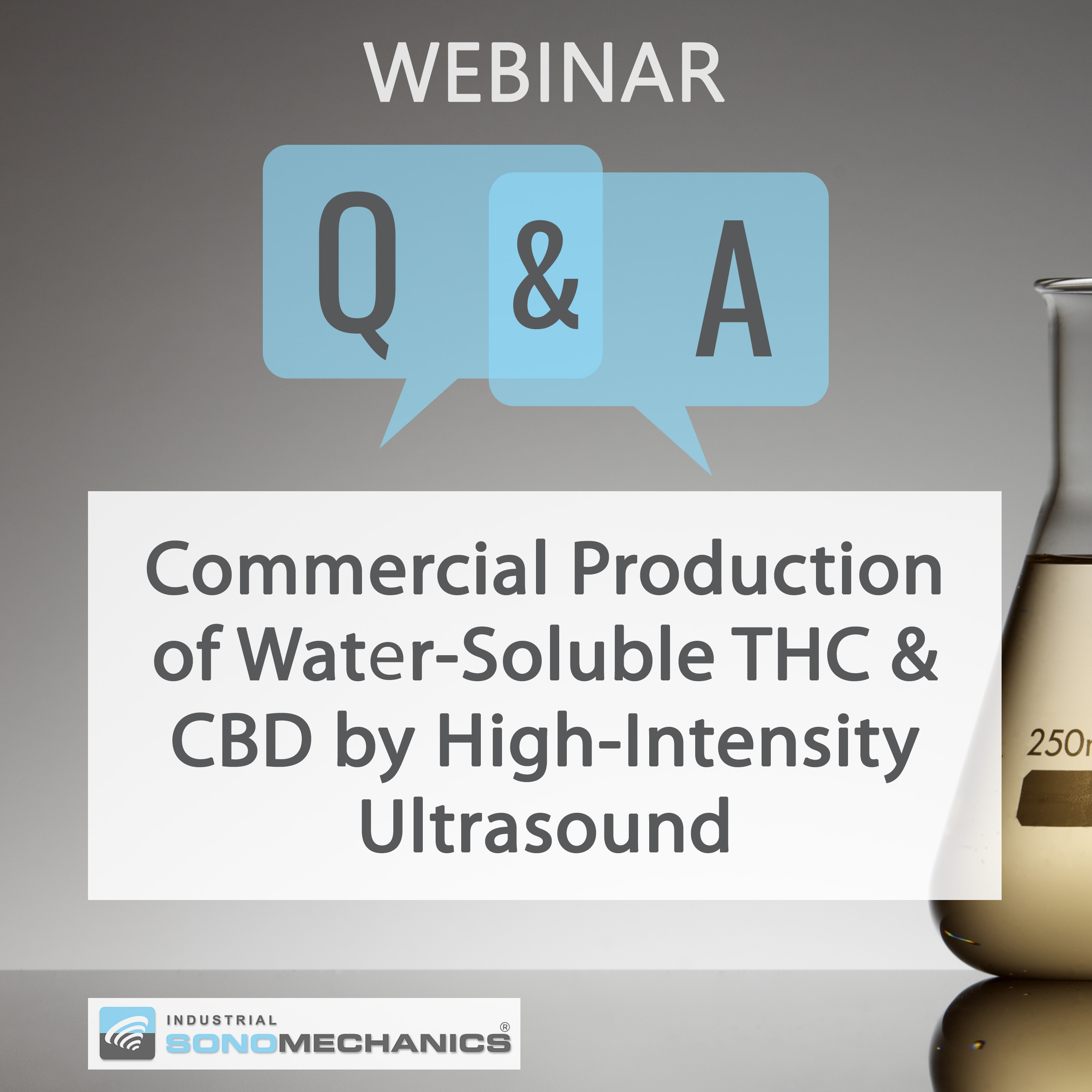 Webinar Recording and Q&As: Commercial Production of Water-Soluble THC & CBD