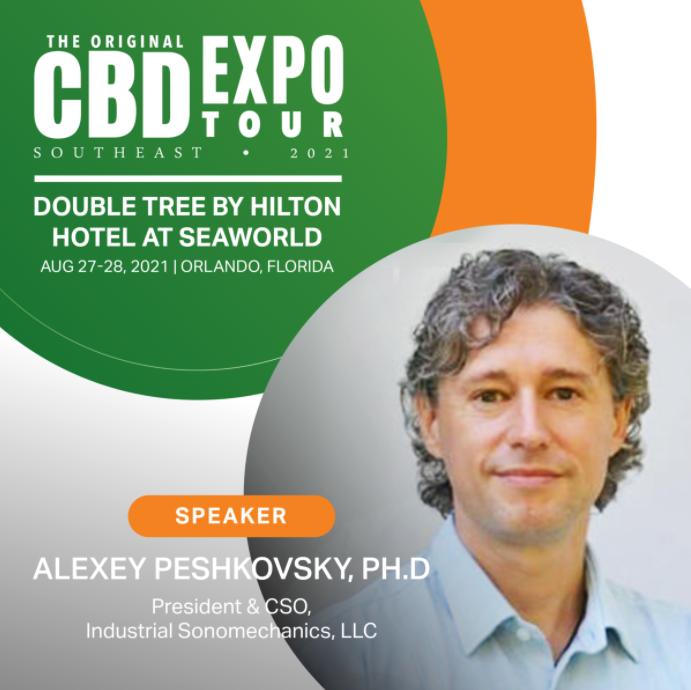 Alexey Peshkovsky speaker at CBD Expo Southeast in Orlando, FL