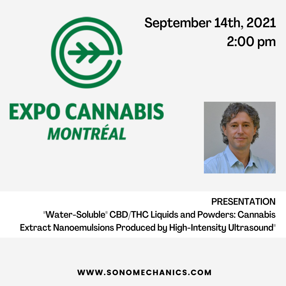 ISM President & CSO to Speak at Montreal Cannabis Expo